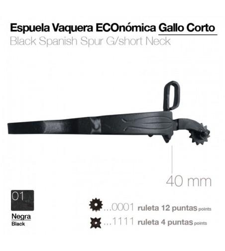 Espuela Vaquera Eco. G/Corto