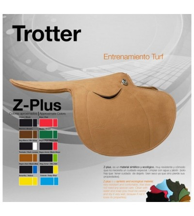 Silla Zaldi-Plus para Entrenamiento Trotter (Muy Ligera)