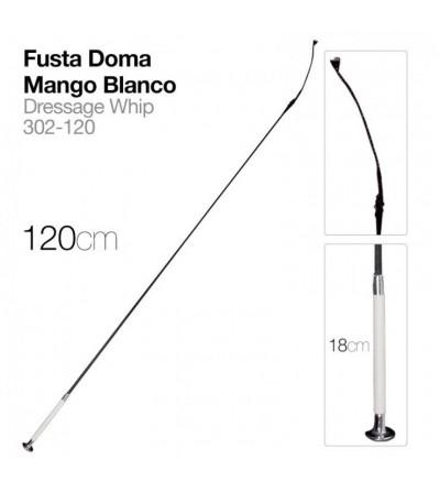 Fusta de Doma Mango Blanco 1.20 m