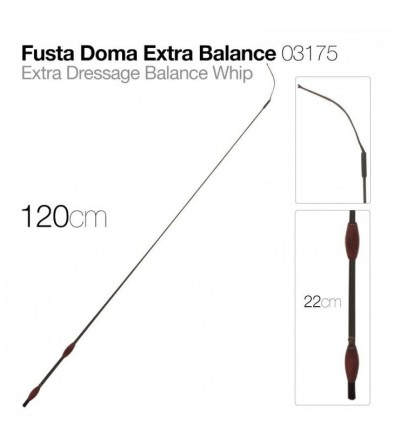 Fusta Doma Extra Balance 03175 120 cm