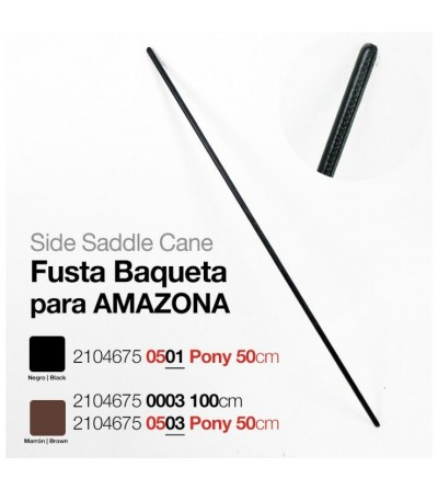 Fusta Baqueta para Amazona 1m