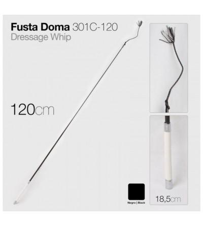Fusta de Doma 301C-120 Negra 1,20 m