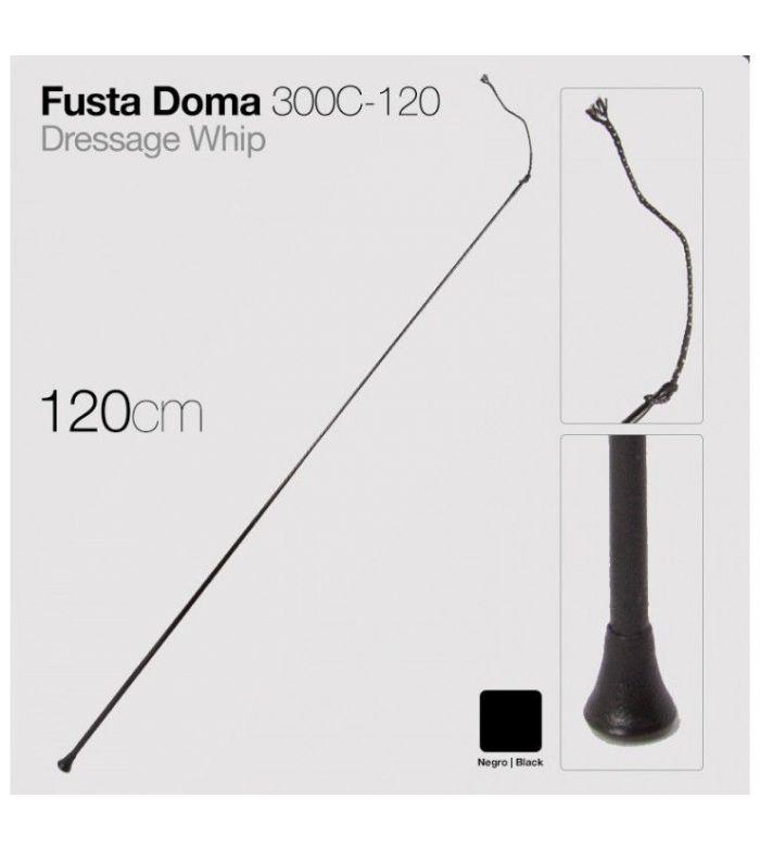 Fusta de Doma 300C-120 Negra 1,20 m
