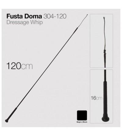 Fusta de Doma 304-120 Negra 1,20 m