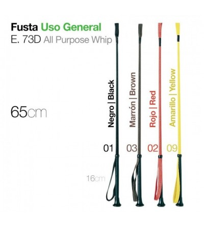 Fusta de Uso General Colores 65 cm