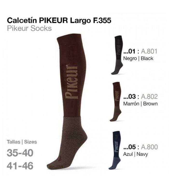 Calcetín Pikeur Largo 355