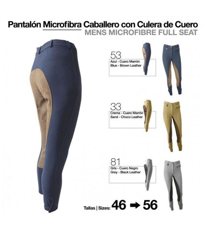Pantalón Microfibra Cuero Caballero