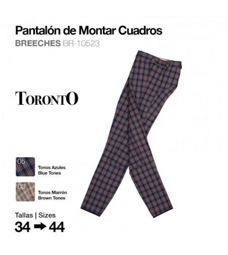 Pantalón de Montar Cuadros Toronto