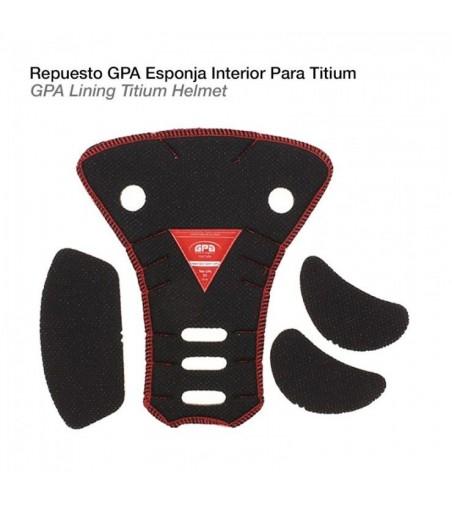 Casco-Gpa Repuesto Esponja Interior Titium