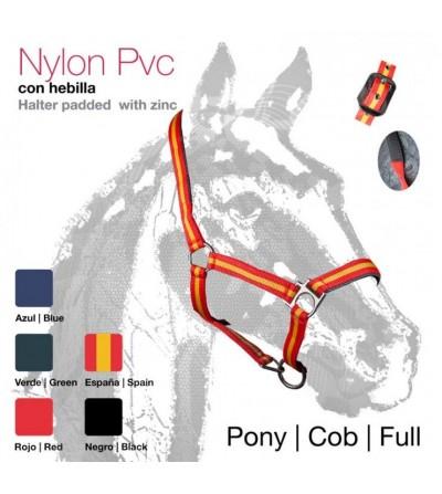 Cabezada de Cuadra Castecus Nylon/Pvc