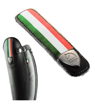 Tira de Cuero Desmontable Bandera Italia