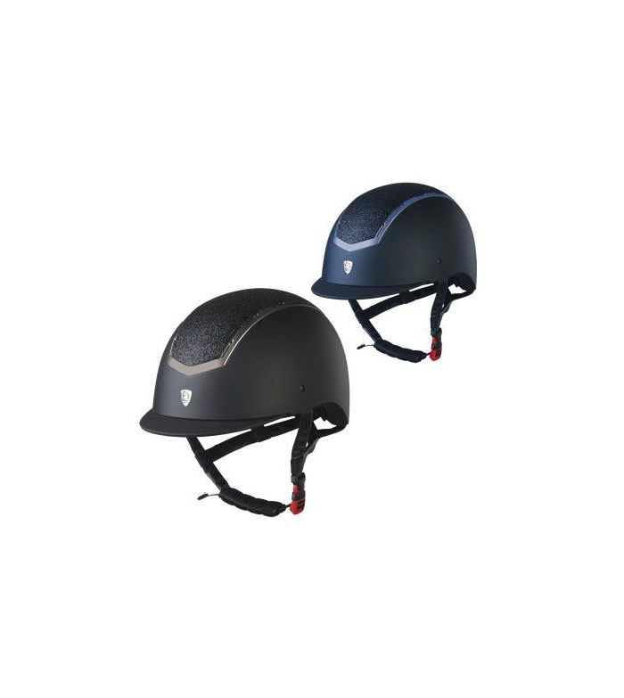 Casco Tattini con Placa Brillante