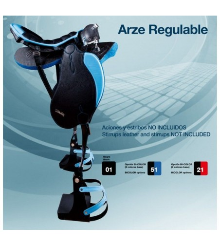 Silla Zaldi Raid Arze Regulable