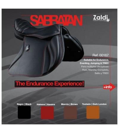 Silla Zaldi Endurance Sabbatan Negra