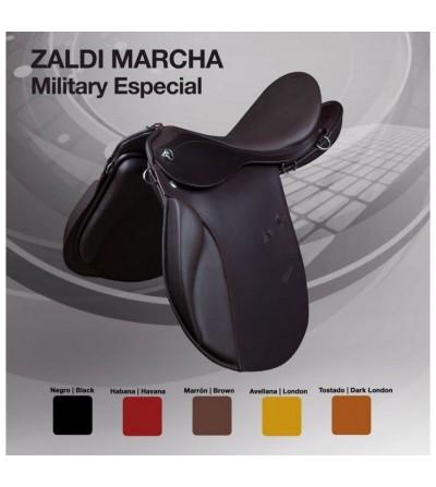 """Silla Zaldi Marcha Military-Especial Cola de Pato"""""""""""