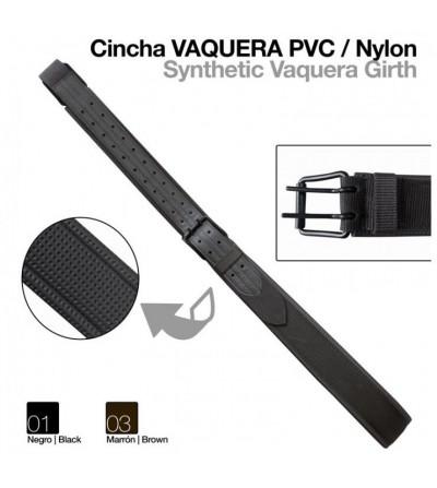 Cincha Vaquera Pvc/Nylon