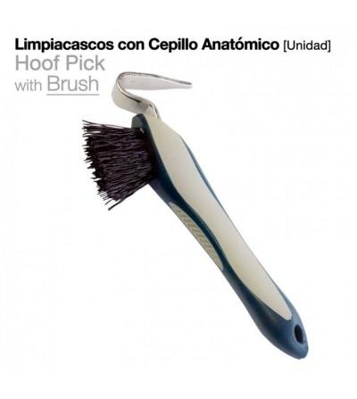 Limpiacascos con Cepillo Anatómico