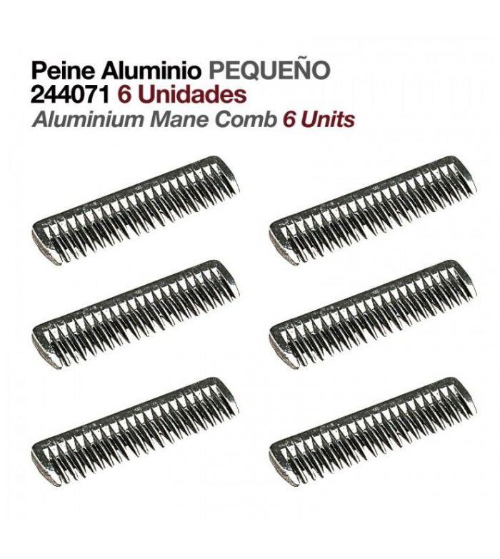 Peine de Aluminio Pequeño (6 Uds)