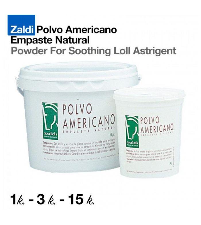 Zaldi | Polvo Americano (Emplaste Natural)