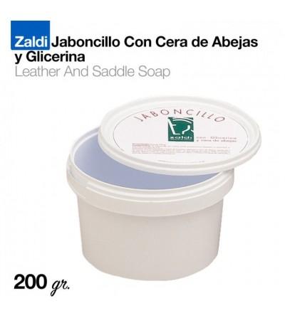 Zaldi Jaboncillo con Cera Abeja y Glicerina 200 Gr