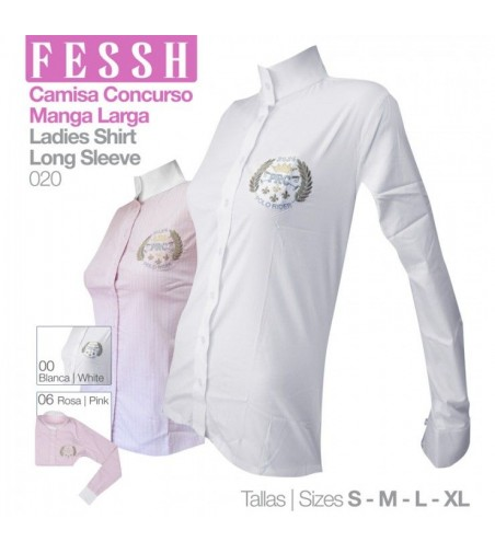 Camisa de Concurso Manga Larga Fessh