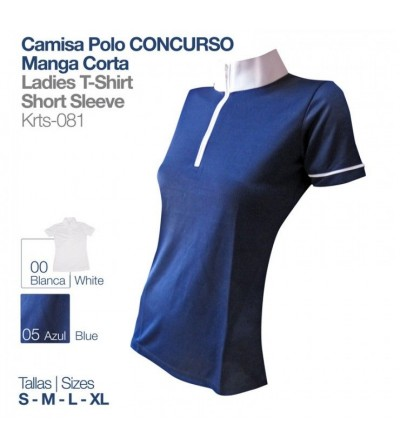 Camisa Polo Concurso Manga Corta