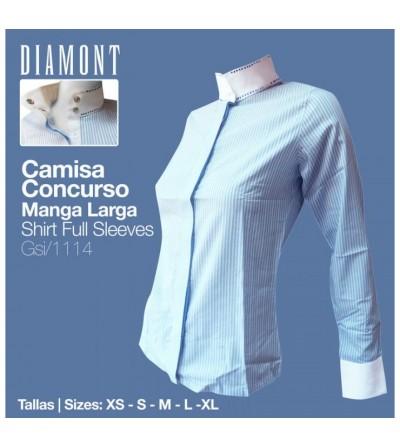 Camisa Concurso Diamont Manga Larga