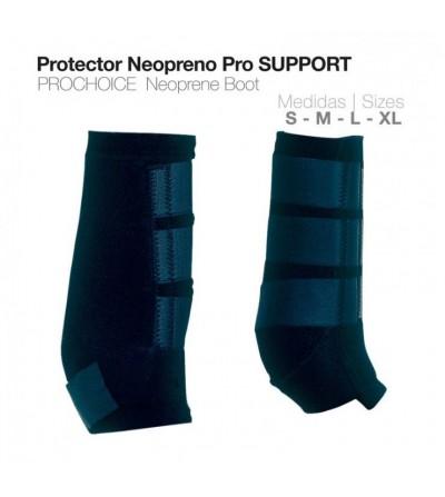 Protector Tendón Neopreno Pro-Support Negro
