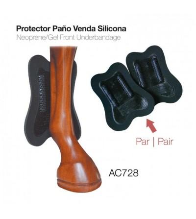 Protector-Paño Bajo Venda Silicona Therapéutico (Par)