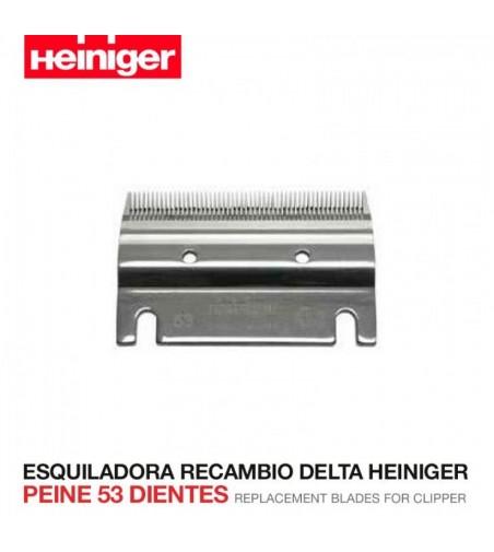 Esquiladora Recambio Delta Heiniger Peine 53 Dientes