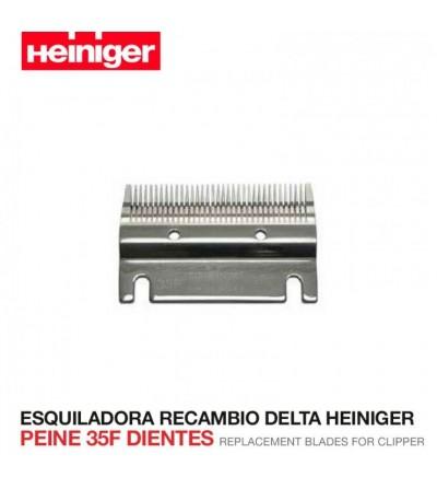 Esquiladora Recambio Delta Heiniger Peine 35F Dientes