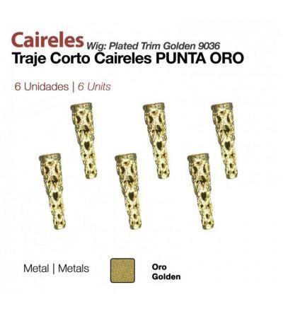 Caireles Punta Oro (6 Uds)
