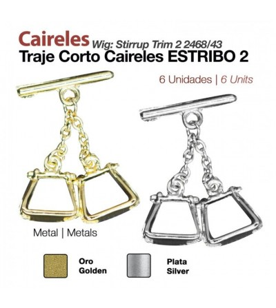 Caireles Estribos (6 Uds)