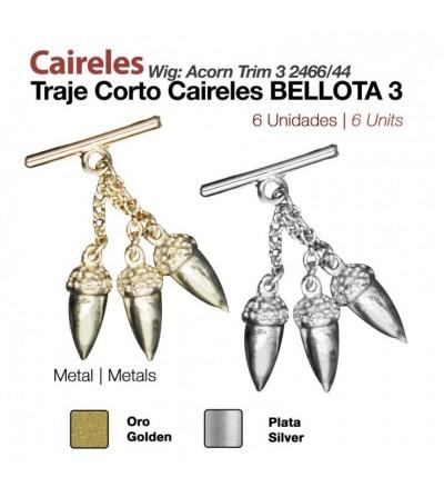 Caireles 3 Bellotas (6 Uds)