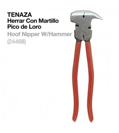 Tenaza Herrar C/Martillo 24468