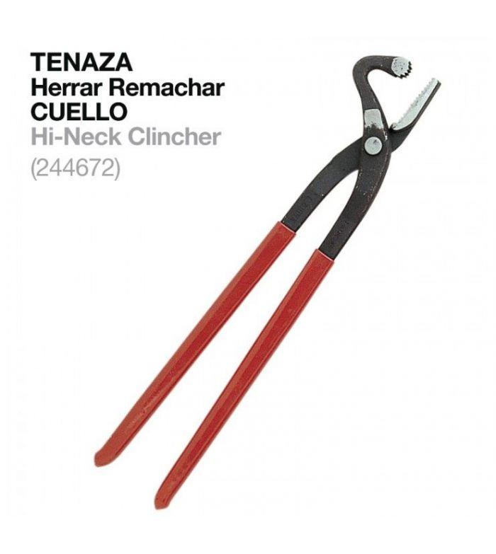 Tenaza Herrar para Remachar con Cuello 244672
