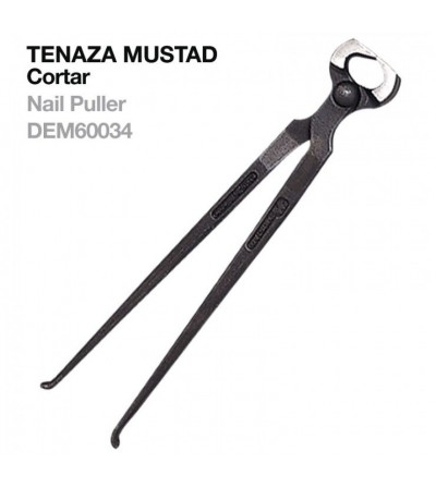 Tenaza Mustad para Cortar Nail-Cutter