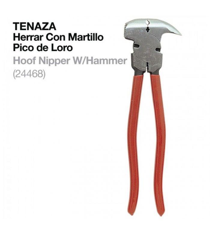 Tenaza Herrar con Martillo 24468