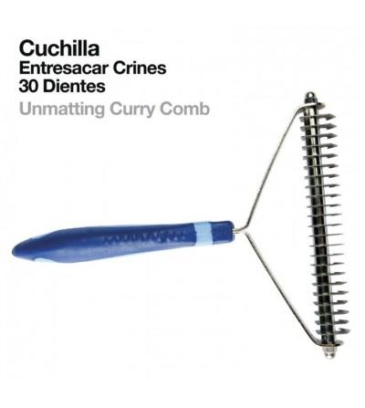 Cuchilla Entresacar Crines 30 Dientes 838