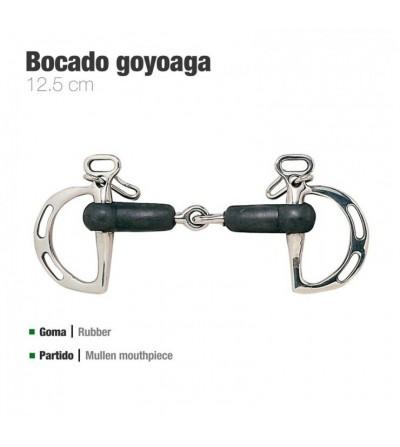 Bocado Goyoaga de Goma Partido con Pasadores 211011R