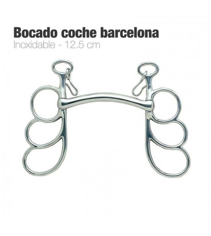 Bocado de Coche Barcelona Inoxidable 3 Globos