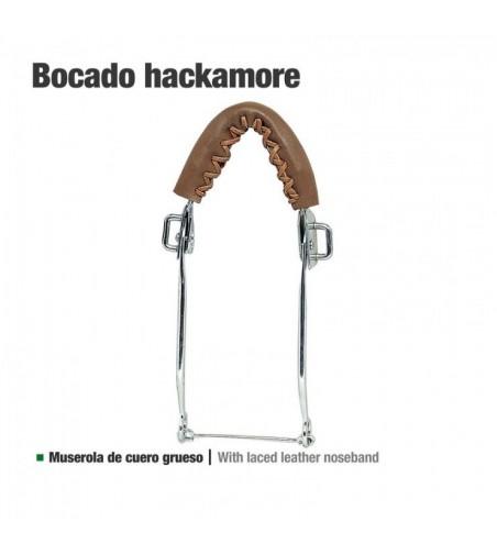 Bocado Hackamore Cuero Grueso 25112