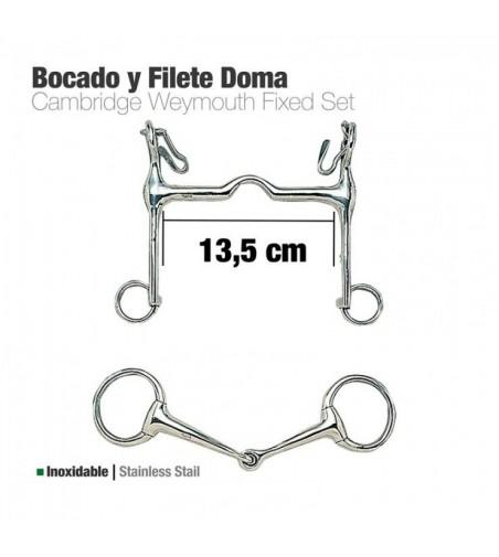 Bocado y Filete Inoxidable Doma 213141