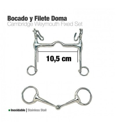 Bocado y Filete Inoxidable Doma 213141
