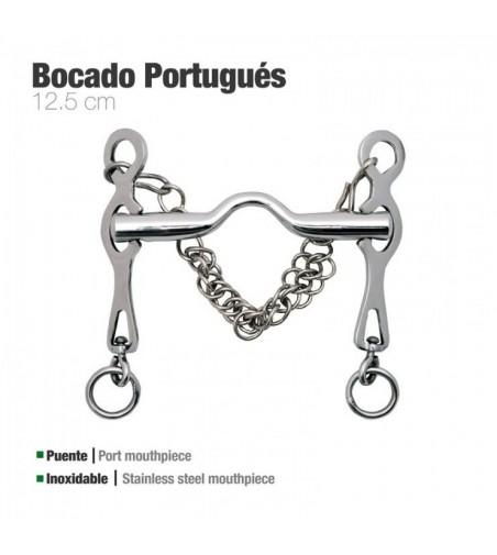 Bocado Portugués Inoxidable Rocío