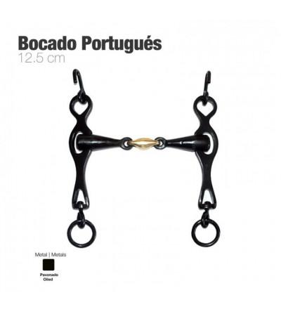 Bocado Portugués Embocadura 3 Piezas 12.5 cm