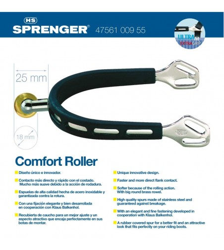 Espuela Hs-Sprenger Inoxidable 47561-009-55 25 mm