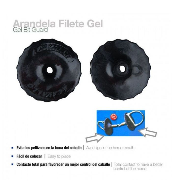 Arandela para Filete Gel Bit Guard (Par)