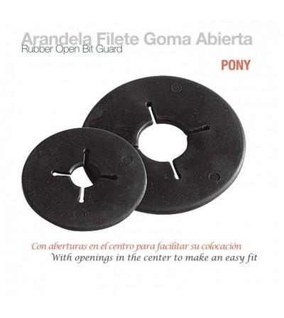 Arandela para Filete de Goma Abierta Pony