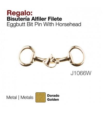Regalo Bisuteria Zaldi Alfiler Filete J1066W